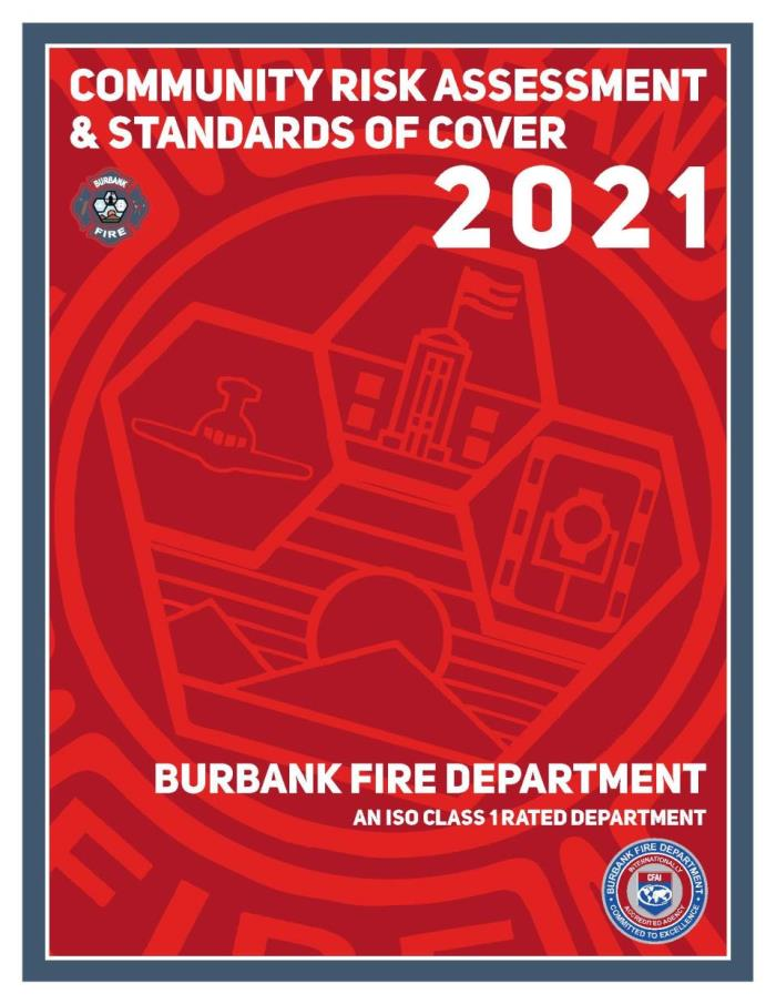 Burbank Fire Standards of Cover 2011