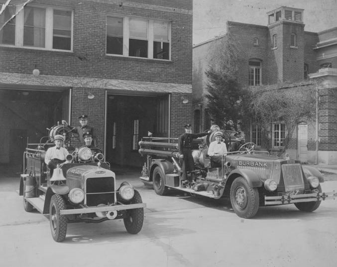 1927 Burbank Fire Department