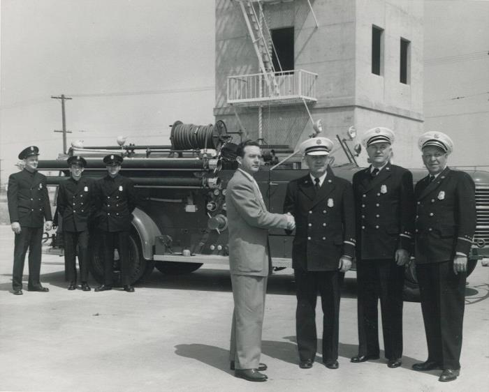 1951 Civil Defense Auxiliary Firemen's Training Class