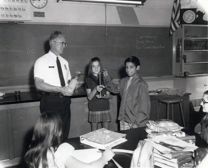 1970 Inspector Duke at Luther Burbank Junior High