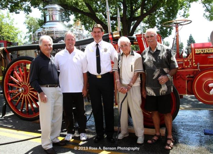 Burbank Fire Chiefs Past and Present