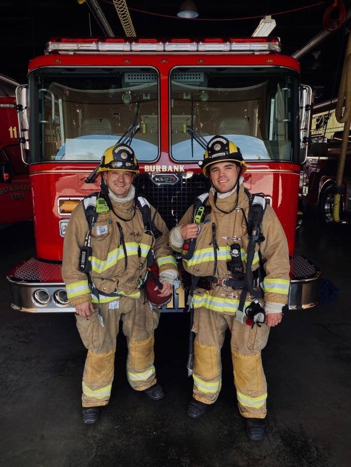 Firefighter Ingraldi and Willison