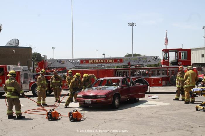 Vehicle Extrication Demonstration