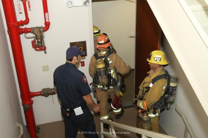 Training in a High-Rise Building