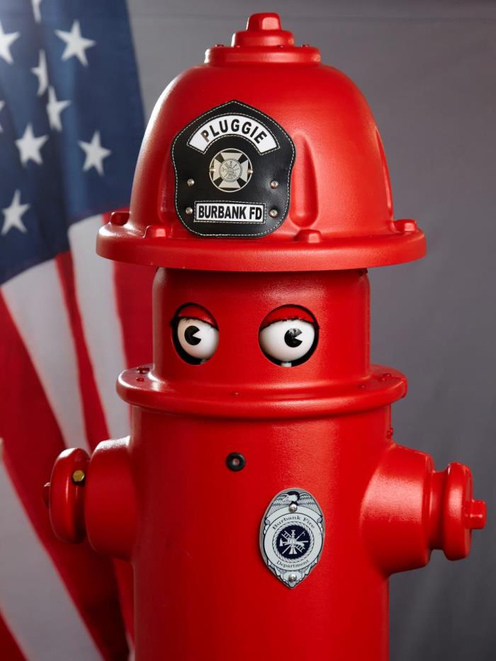 Pluggie, a fire hydrant